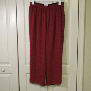 Liz Claiborne Reversible Pull On Pants Size 1X